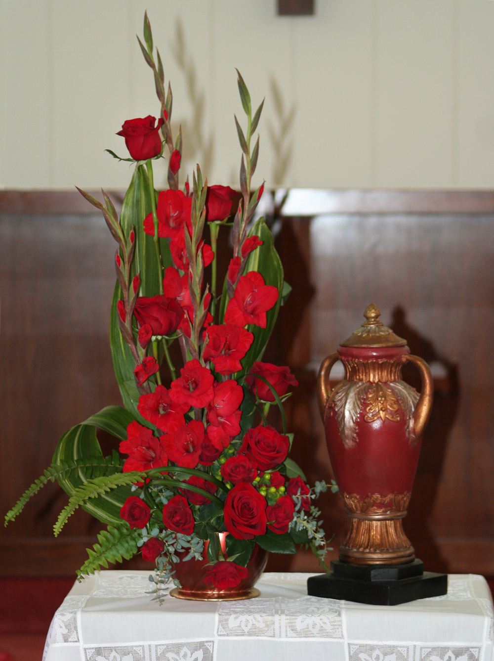 Funeral Urns Flowers Urn